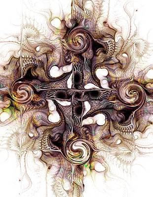 Desert Cross Poster by Anastasiya Malakhova