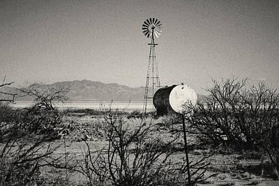 Desert Farm Poster