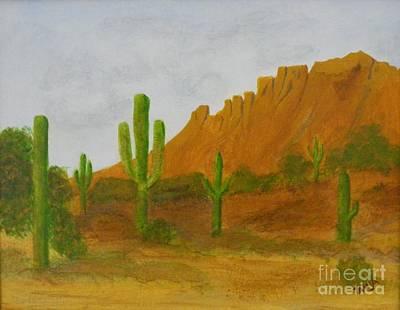 Desert Forest Poster