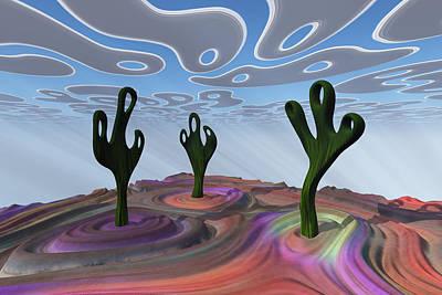 Desert Gathering Poster
