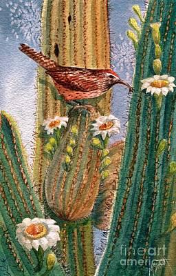 Desert Gems Poster by Marilyn Smith