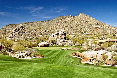 Desert Golf Poster