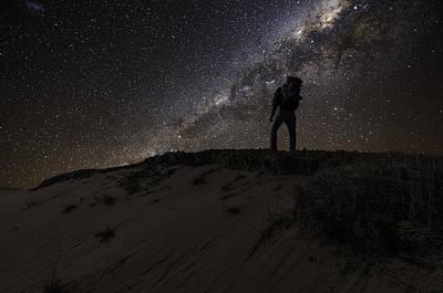 Desert Hiking Poster