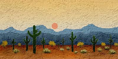 Desert Impressions Poster
