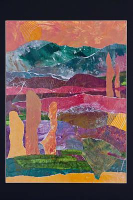 Desert In Spring Poster