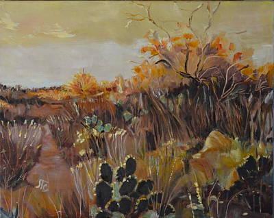 Desert Landscape Poster by Julie Todd-Cundiff
