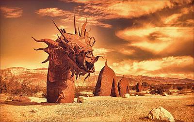Desert Ness Poster