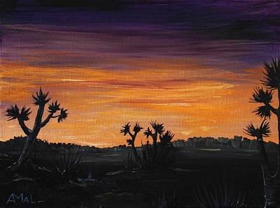 Desert Night Poster by Anastasiya Malakhova