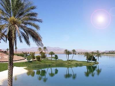 Desert Oasis Poster