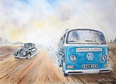 Desert Race. Poster by Joe Trodden