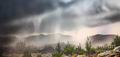 Desert Rain Poster