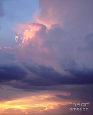 Desert Rainstorm 6 Poster