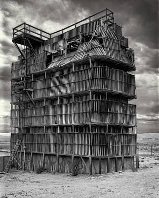 Desert Redwood Cooling Tower Poster by Daniel Hagerman