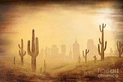 Desert Skyline Poster