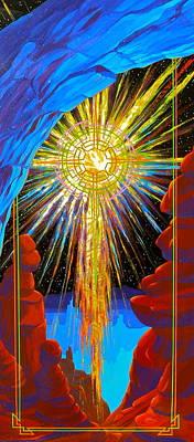 Desert Star  Poster by Alan Johnson