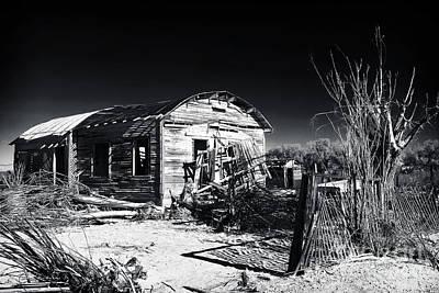 Deserted In The Desert  Poster by John Rizzuto