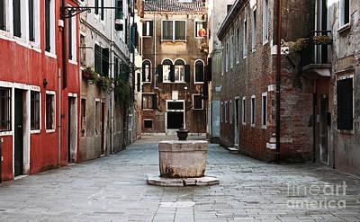 Deserted Street Poster