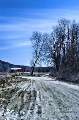 Desolate Road Poster