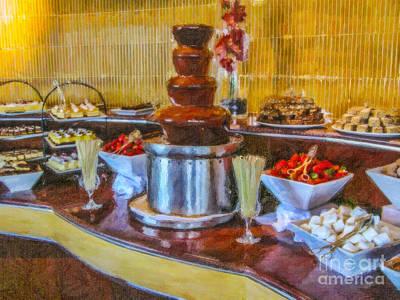 Dessert Buffet Poster