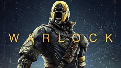 Destiny 3 Warlock Poster by Movie Poster Prints