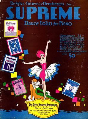 Desylva Brown And Henderson Supreme Dance Folio Poster