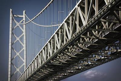 Detail Of Akashi Kaikyo Super Bridge Poster