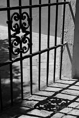 Poster featuring the photograph Detail Of Gate In Seville by Cendrine Marrouat