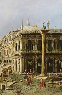 Detail Of Palazzo Della Zecca Poster