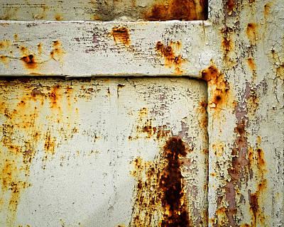 Detail Rusty Iron Gates Poster by Jozef Jankola