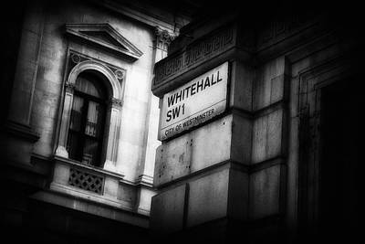 Details From Whitehall London Poster by Paul Bucknall