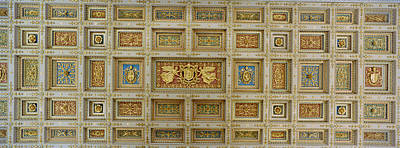 Details Of The Ceiling Of A Basilica Poster by Panoramic Images