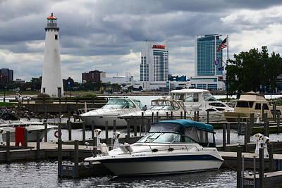Detroit Boat Docks Poster