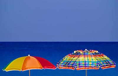 Deuce Umbrellas Poster