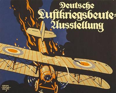 Deutsche Luftkriegsbeute Ausstellung Poster