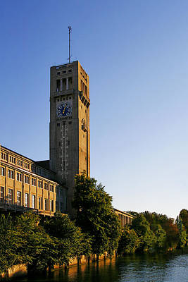Deutsches Museum Munich - Meteorological Tower Poster