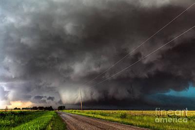 Developing Tornado Poster by Marko Korosec