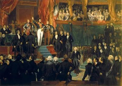 Deveria, Eug�ne 1805-1865 Poster