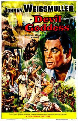 Devil Goddess, Us Poster, Johnny Poster