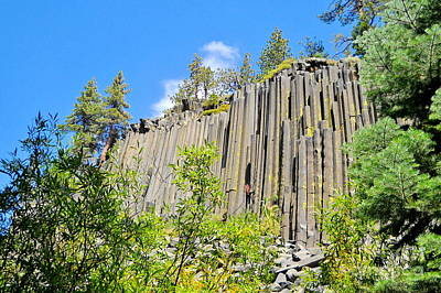 Poster featuring the photograph Devils Postpile by Marilyn Diaz