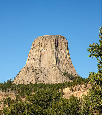 Poster featuring the photograph Devils Tower by John M Bailey