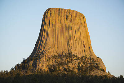 Devils Tower National Monument Wyoming Poster