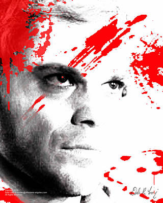 Dexter Dreaming Poster by Dale Loos Jr
