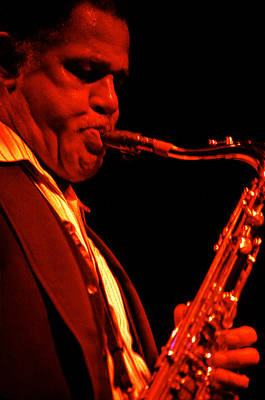 Dexter Gordon Poster by Lindy Pollard