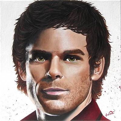 Dexter Poster by Oddball Art Co by Lizzy Love
