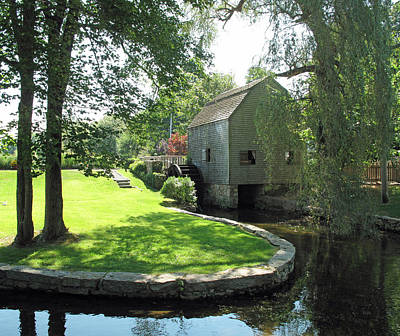Dexters Grist Mill Poster