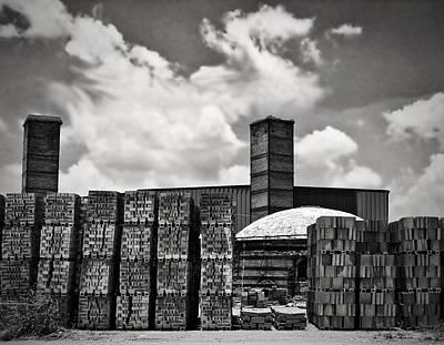 D'hanis Brick Factory Poster