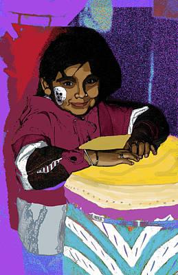 Dia De Los Muertos Child Poster