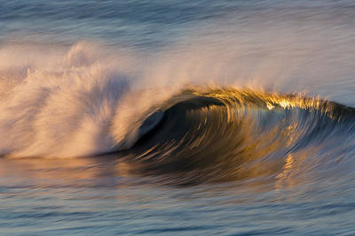 Poster featuring the photograph Diagonal Blur Wave 73a8081 by David Orias
