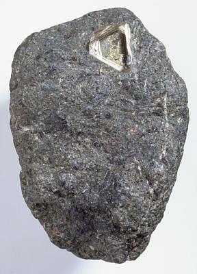 Diamond In Kimberlite Poster