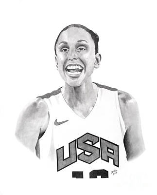Diana Taurasi Usa Poster by Devin Millington